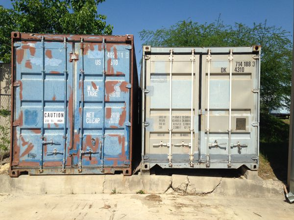 Used 40 High Cube Shipping Container Storage Containers Cargo