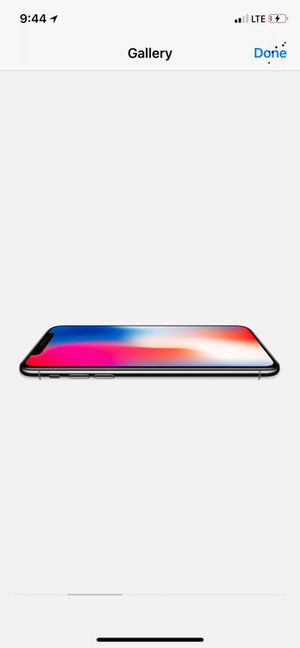 Verizon IPhone X 256 Space Grey will glass screen protector installed
