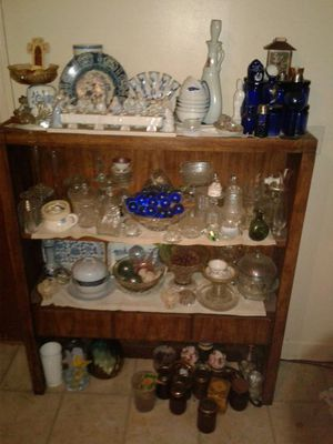 Antique dishes