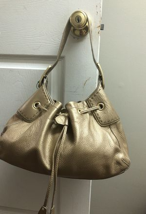 Cole Haan gold purse