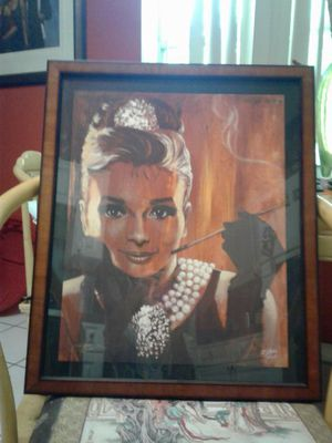 Breakfast at Tiffany's by Stefan Fishwick number 106 out of 300 print framed signed by artist and ready to hang