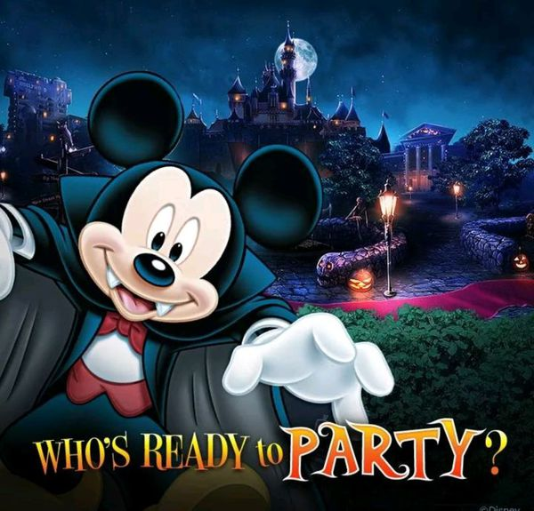 3 Tickets for Mickey's Not So Scary Halloween Party @ Disneyland ...