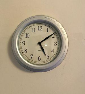 Silver IKEA Wall Clock