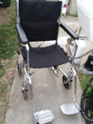 Transport Wheelchair lightweight aluminum