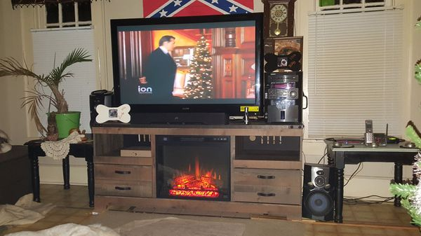 55 inch sanyo tv Ashley furniture fireplace tv stand TVs in Vale NC