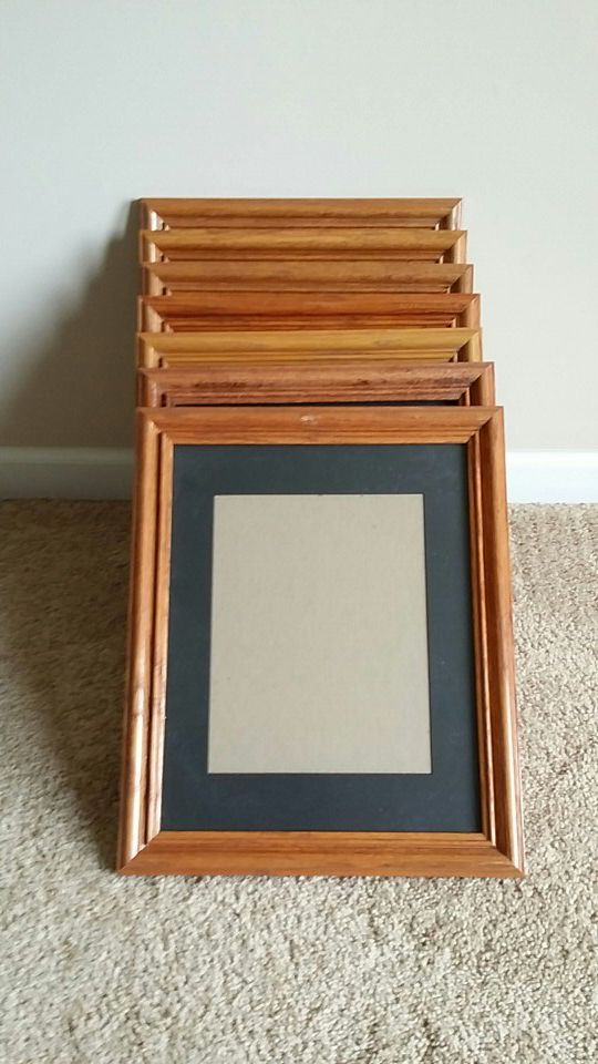 Picture frames with 8X10 matte in each. (Photography) in Columbus ...