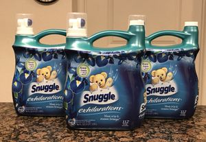 Snuggle Exhilarations Fabric Softener 96 oz