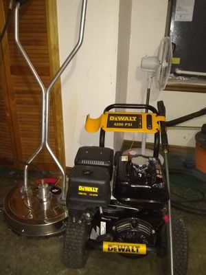 """Pressure washer and 21"""" Surface cleaner"""