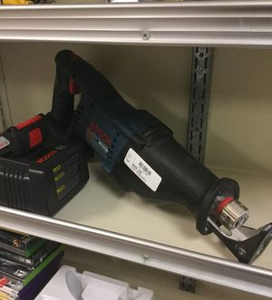 Bosch 18v Lithium Reciprocating Saw