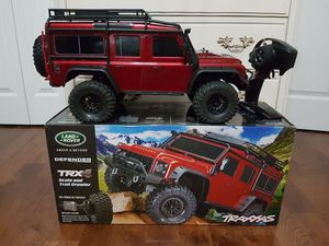 Almost NEW Traxxas TRX-4 4WD RC Land Rover Defender Trail Crawler