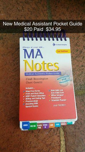 Medical Assistant Pocket Guide