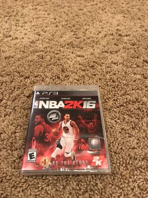 Brand New PS3 NBA 2K16 video game