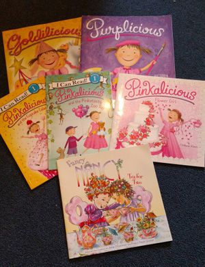 Girls book set, six books