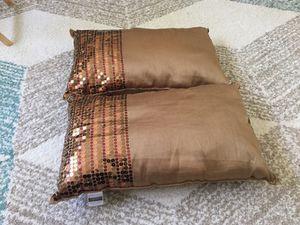 Decorative pillows sateen