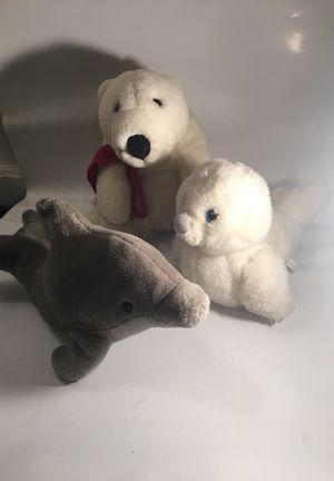 Stuffed Animals - Aquatic Trio
