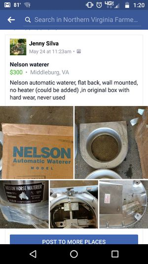 Nelson automatic waterer