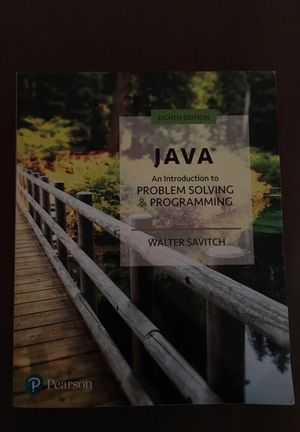Java: An Introduction to Problem Solving & Programming Eighth Edition