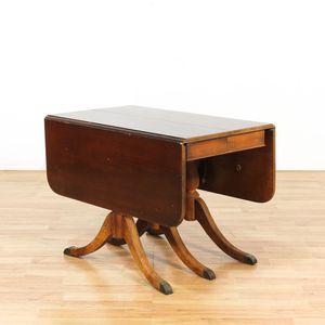 1940's Duncan Phyfe Style Mahogany Dining Table