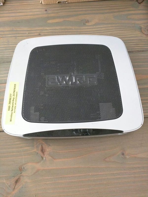 2wire AT&T/Uverse Wireless Router and modem (Computer Equipment) in ...