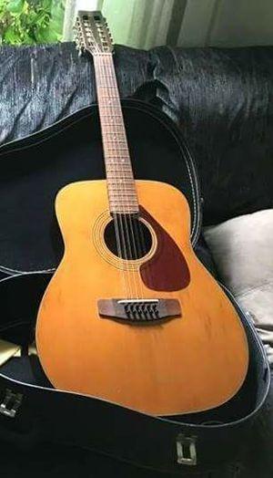 Yamaha 12 string Guitar and Case