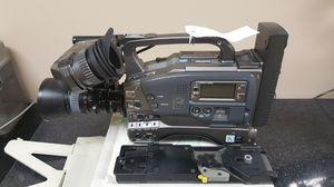 (2) JVC GY-DV500 PROFESSIONAL BROADCAST DIGITAL CAMCORDERS