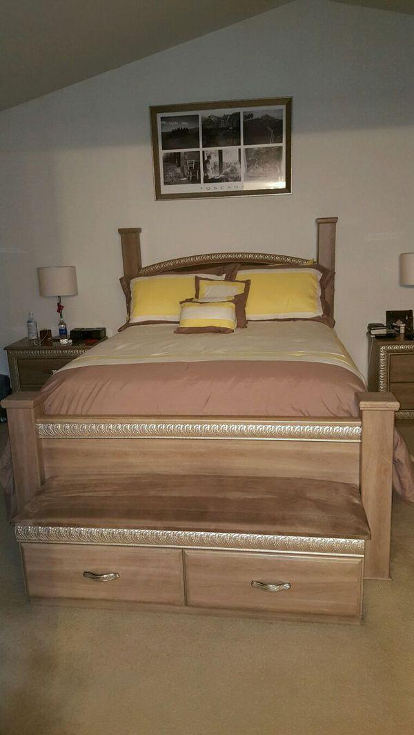 Bedroom Set 6 Piece Queen Furniture In Romeoville Il Offerup