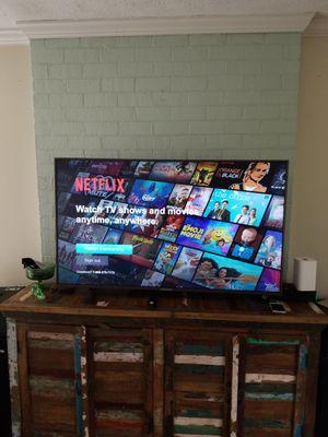 55 inch 4K Smart TV w/ HD antenna + wall mount