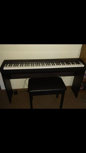 Keyboard with weighted keys