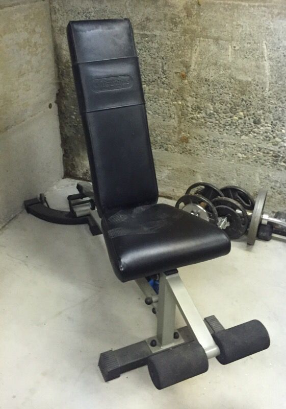 nautilus smith machine bar weight