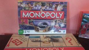 Monopoly games Disney world edition and real estate trading