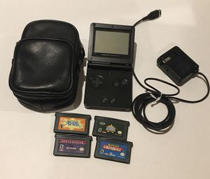 Onyx Black Game Boy SP Bundle