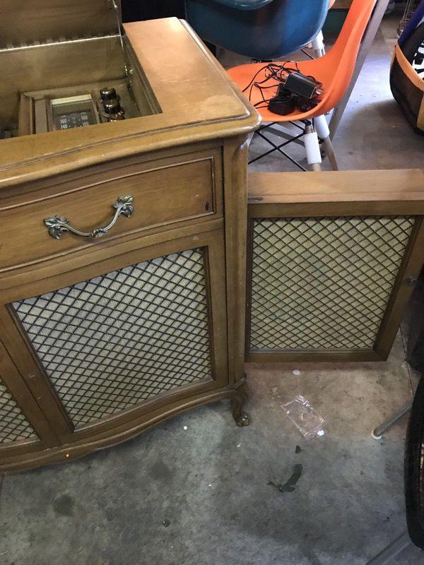 Motorola SK35W Stereophonic High Fidelity Cabinet by Drexel. Hook ...