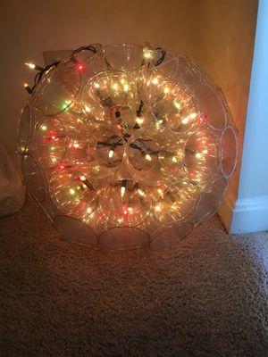 Lantern with lights