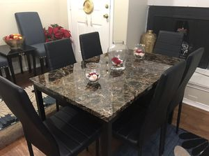 Dining Table With 6 Chairs New In The Box