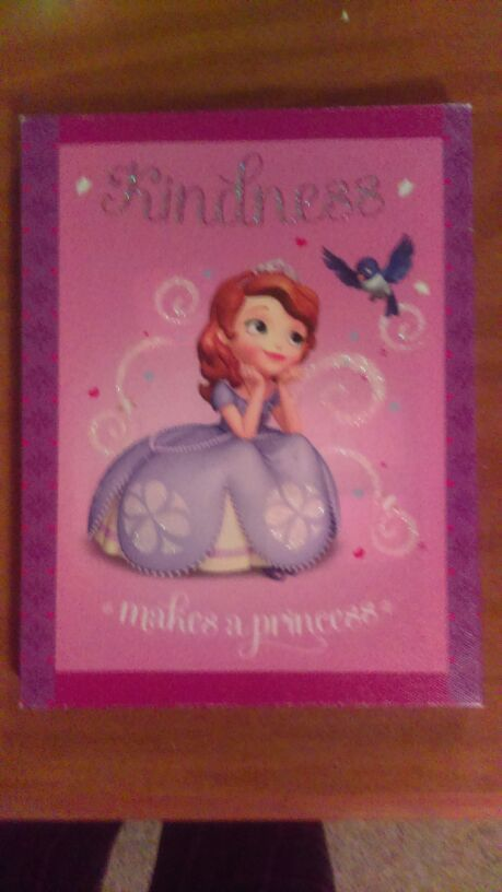 Sofia the first wall decor (Baby & Kids) in Leesburg, FL - OfferUp