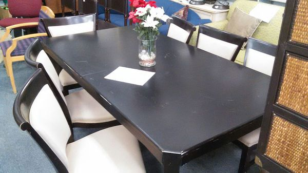 O Palier Dining Table With 6 Chairs