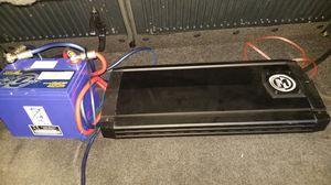 Amp whit battery