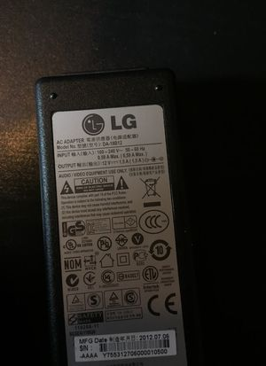 LG Adapter for Media Players or Mini Laptops $4.00