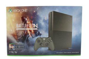 Xboxone S 1tb Battlefield One edition