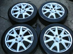 Infiniti g37s wheels set of 4 enkei factory with tires