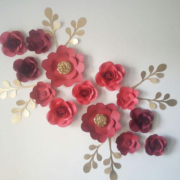 Paper flowers decorations backdrop flower wall baby shower paper flowers decorations backdrop flower wall baby shower birthday general in houston tx offerup mightylinksfo