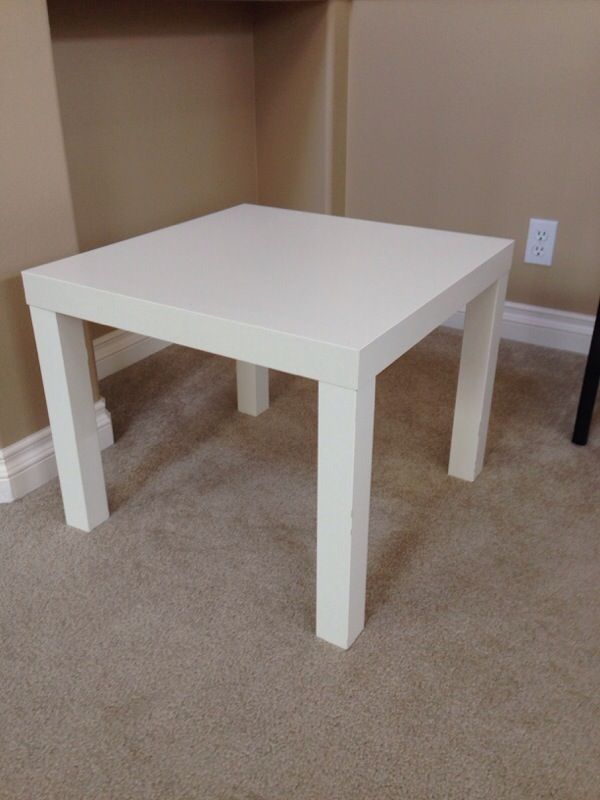 Ikea lack side table white 2 furniture in redmond wa for Ikea outdoor side table