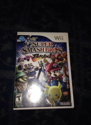 Super smash brothers wii