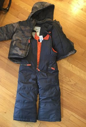 24 month snow suit great deal