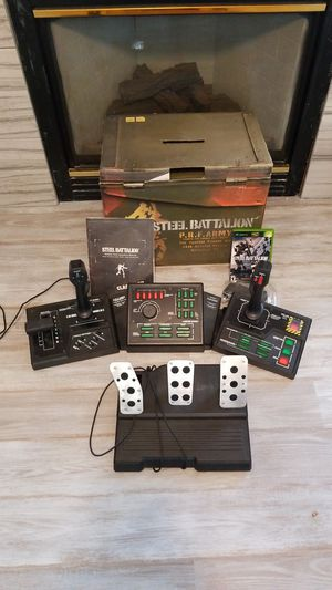 Steel Battalion - with controller