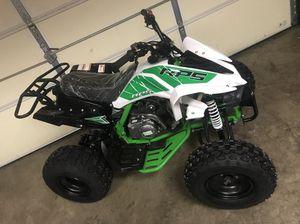 New 125cc 4 wheeler