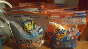 Tide and All oxi pods
