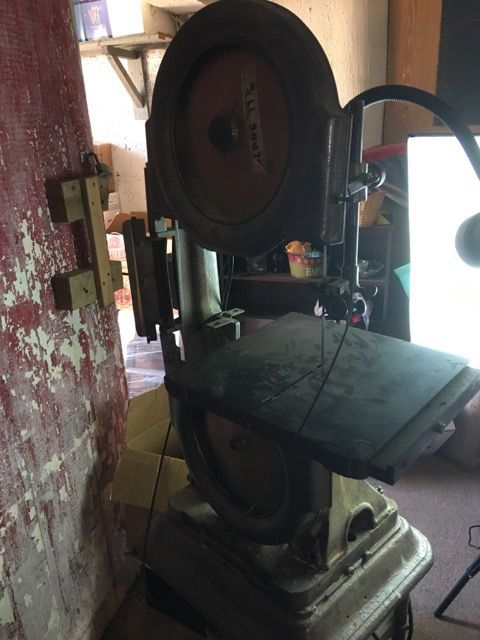 Vintage Shop Band Saw
