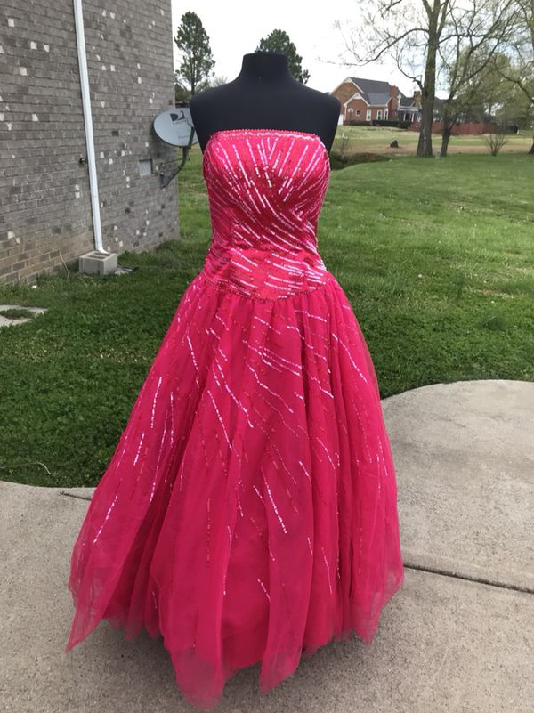 Beautiful Tiffany brand Pink Formal Prom Dress Size 14 (Clothing ...