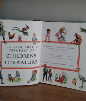 "1955 ""The Illustrated Treasure Of Children's Literature """